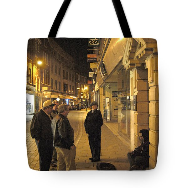 On The Street Tote Bag by Mike McGlothlen