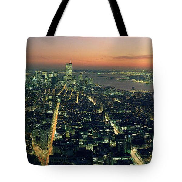 On Top Of The City Tote Bag by Jon Neidert