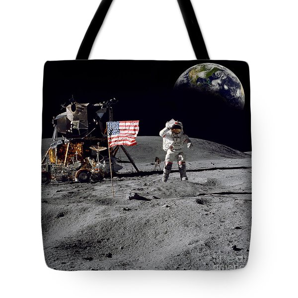 On Top Of The World Tote Bag by Jon Neidert