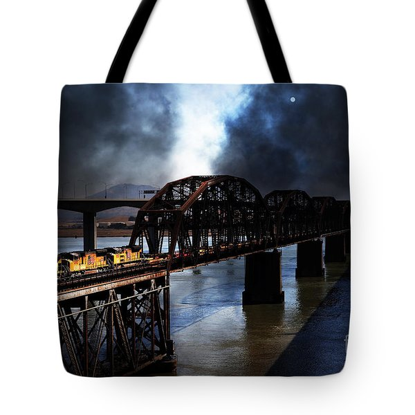 Once Upon A Time In The Story Book Town of Benicia California - 5D18849 Tote Bag by Wingsdomain Art and Photography