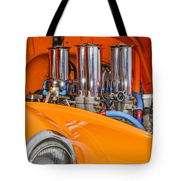 One Chrome Light Tote Bag by Carolyn Marshall
