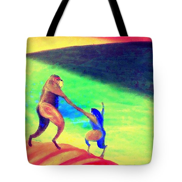 One day All this will be yours  Tote Bag by Hilde Widerberg