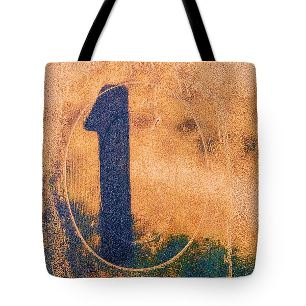 One In Zero Tote Bag by Carol Leigh