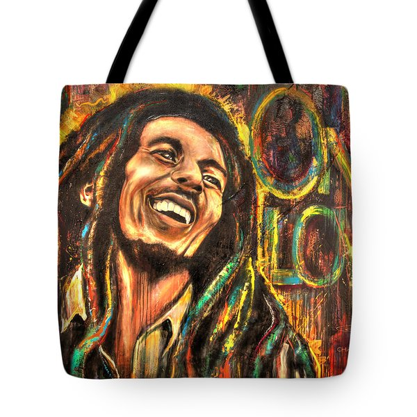 One Love Tote Bag by Robyn Chance