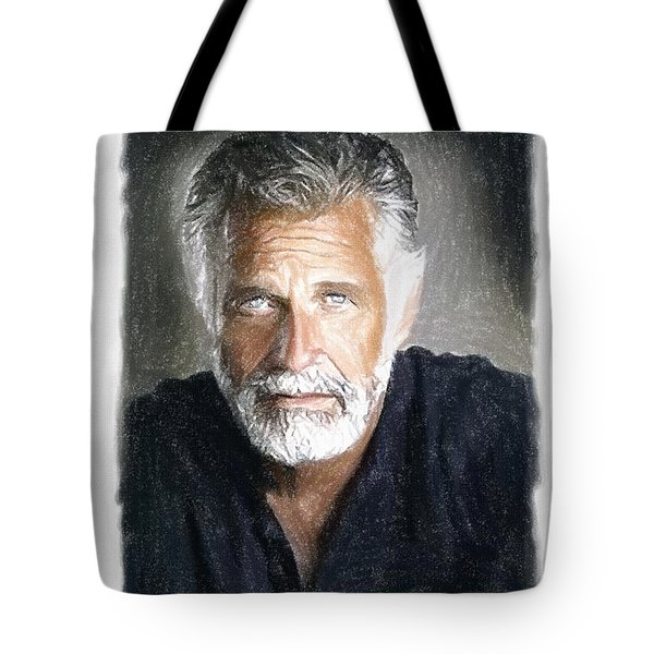 One of the Most Interesting Man in the World Tote Bag by Angela A Stanton
