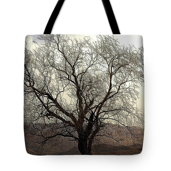 One Tree Tote Bag by Kathleen Struckle
