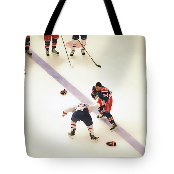 One Two Punch Tote Bag by Karol  Livote
