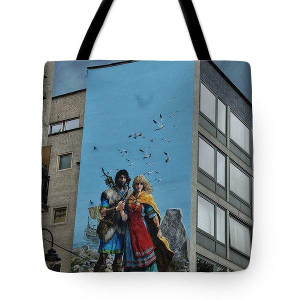 One Wall One Artist Tote Bag by Juli Scalzi