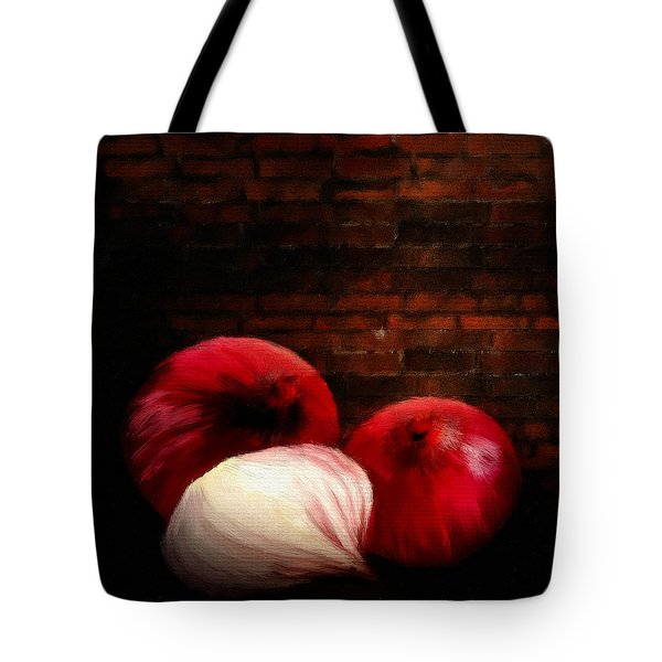 Onions Tote Bag by Lourry Legarde