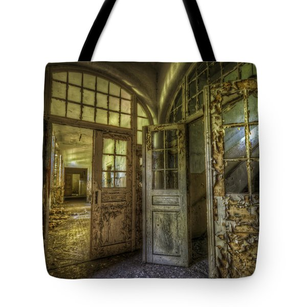 Open Doors Tote Bag by Nathan Wright