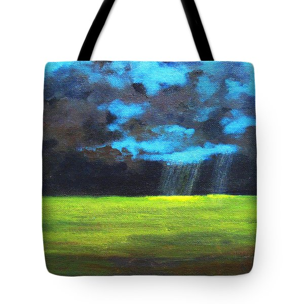 Open Field III Tote Bag by Patricia Awapara