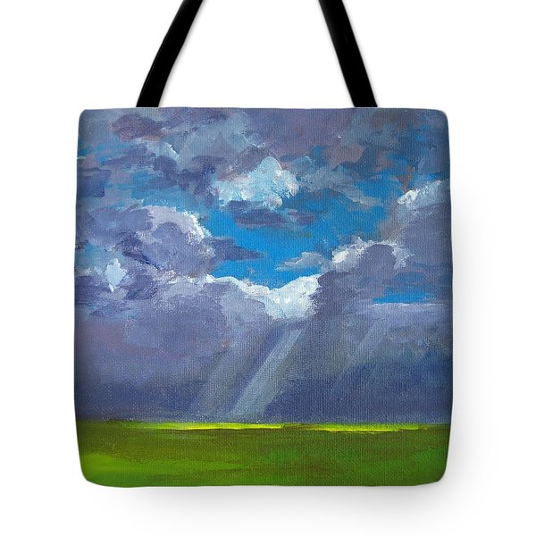 Open Field Majestic Tote Bag by Patricia Awapara