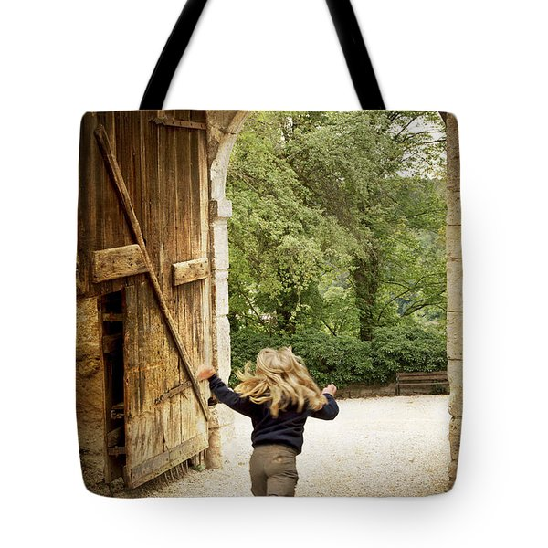 Open Gate Tote Bag by Heiko Koehrer-Wagner