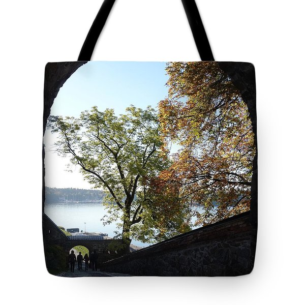 Open gate Tote Bag by Hilde Widerberg
