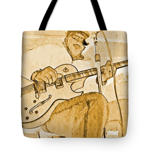 Open Jam Tote Bag by Chris Berry