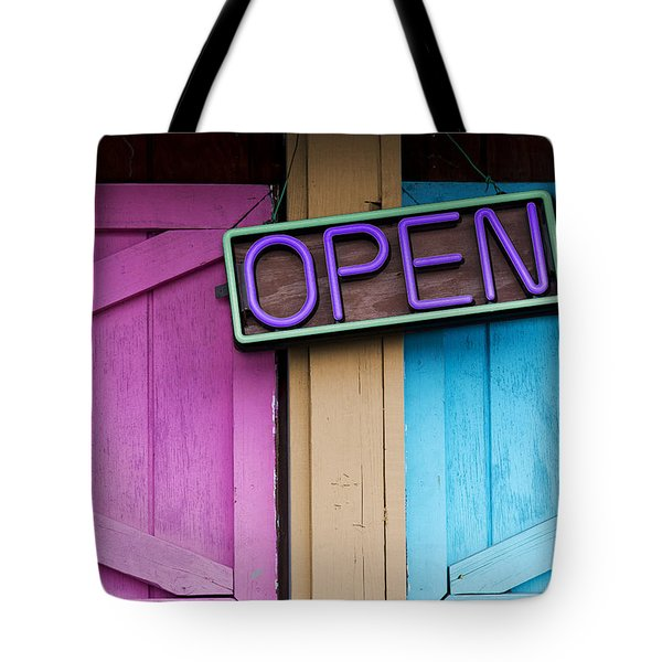 Open Tote Bag by Paul Wear