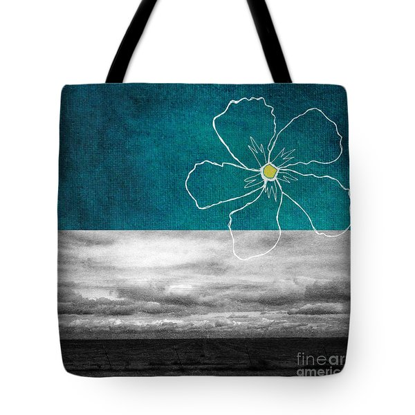 Open Spaces Tote Bag by Linda Woods