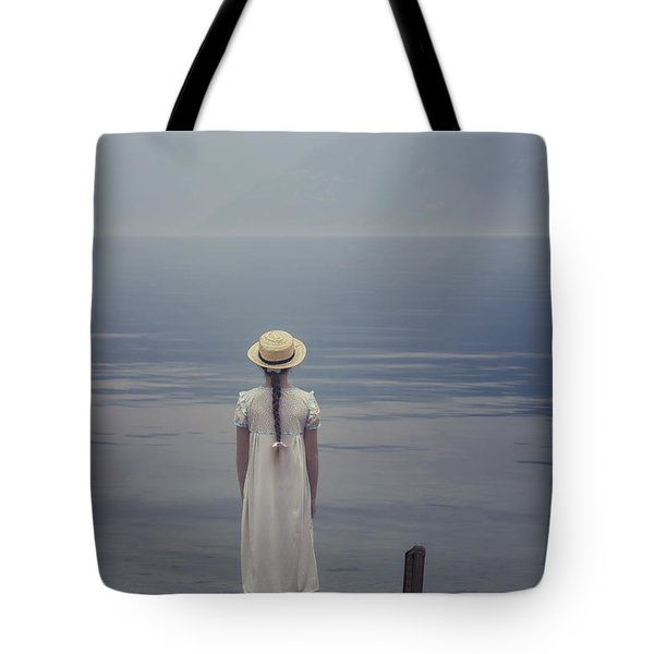 Open Suitcase Tote Bag by Joana Kruse