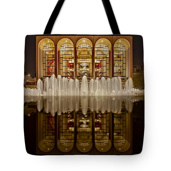 Opera House Reflections Tote Bag by Susan Candelario