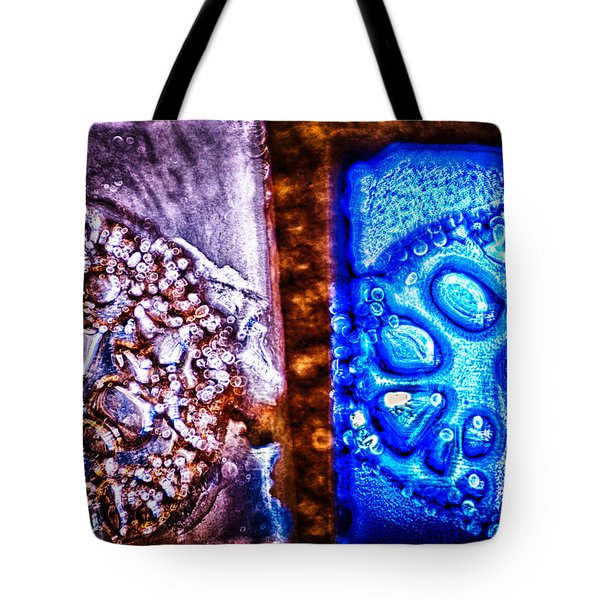 Opposing Forces Tote Bag by Omaste Witkowski