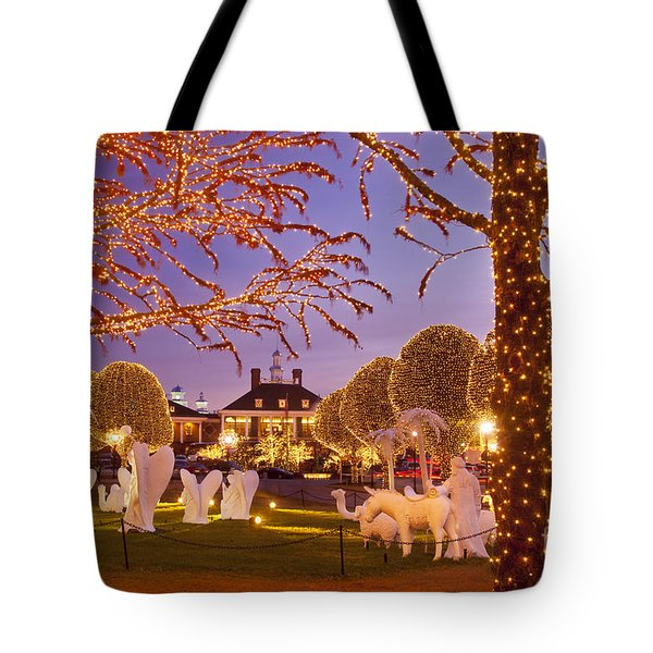 Opryland Hotel Christmas Tote Bag by Brian Jannsen