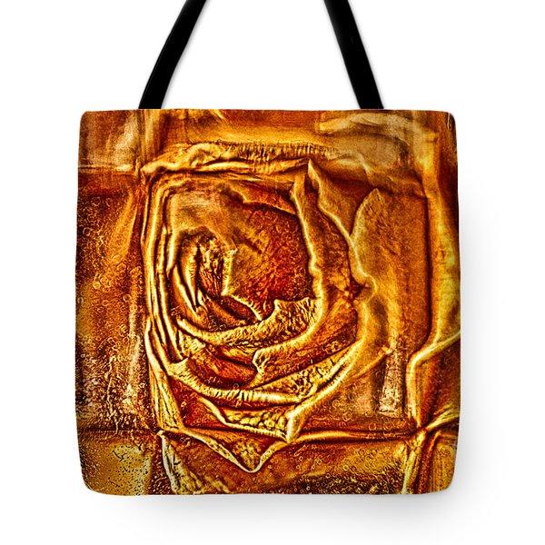 Orange Rose Tote Bag by Omaste Witkowski