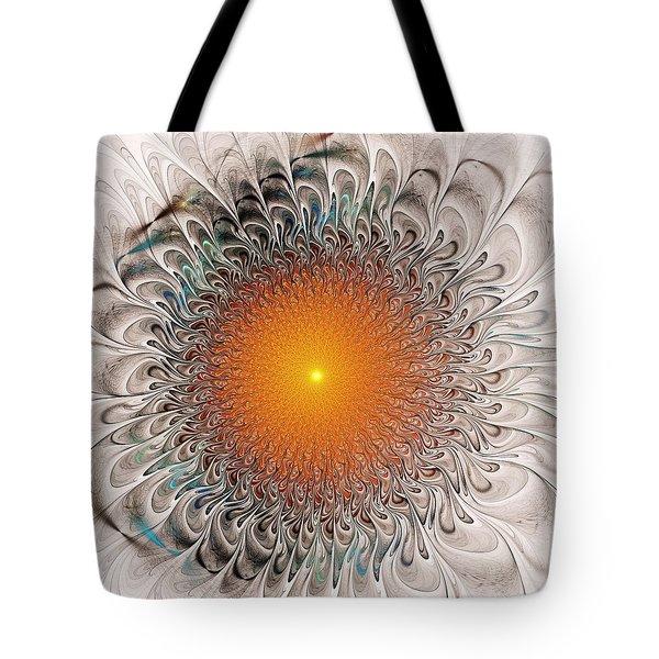 Orange Zone Tote Bag by Anastasiya Malakhova