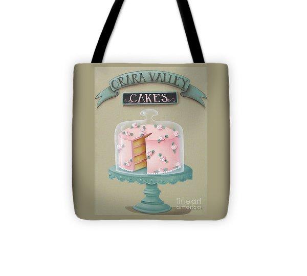 Orara Valley Cakes Tote Bag by Catherine Holman