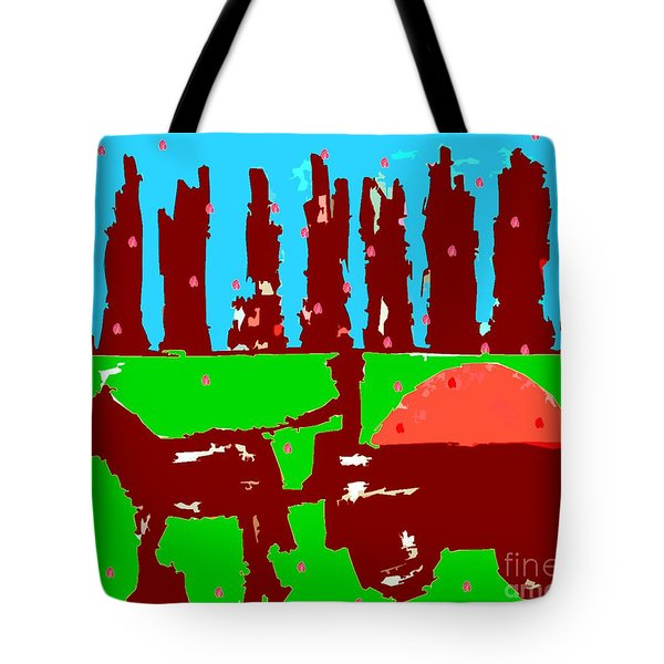 ORCHARD 2 Tote Bag by Patrick J Murphy