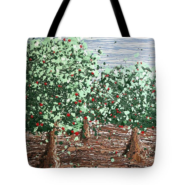 Orchard 4 Tote Bag by Ric Bascobert