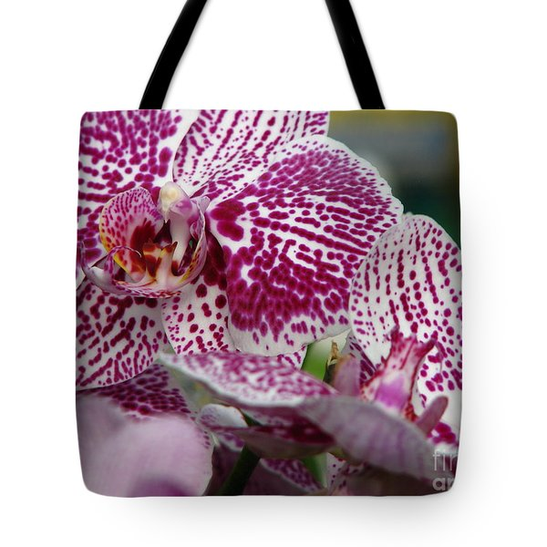 Orchid Art Tote Bag by Greg Patzer