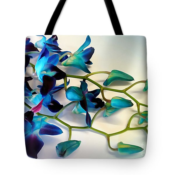 Orchid Bouquet Tote Bag by Kaye Menner