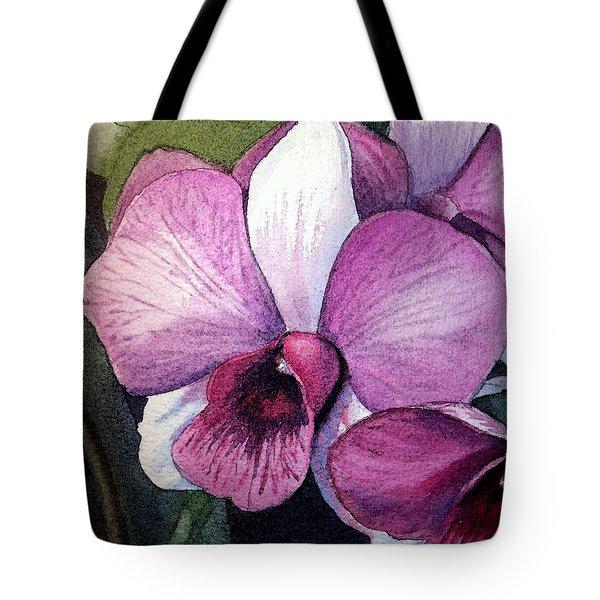 Orchid Tote Bag by Irina Sztukowski