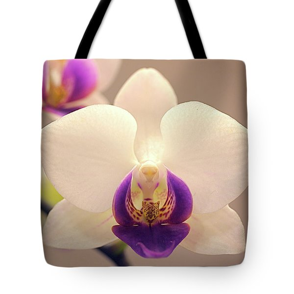 Orchid Tote Bag by Rona Black