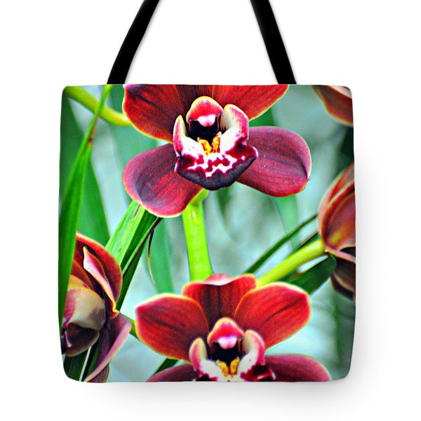 Orchid Rusty Tote Bag by Marty Koch