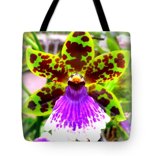 Orchid Tote Bag by The Creative Minds Art and Photography