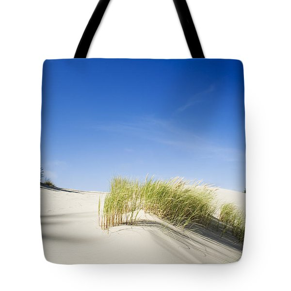 Oregon Dunes Tote Bag by Charmian Vistaunet