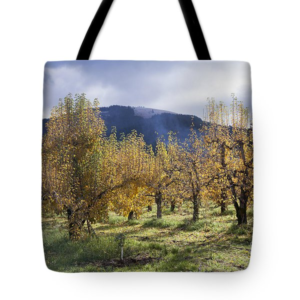 Oregon Orchard Tote Bag by Peter French