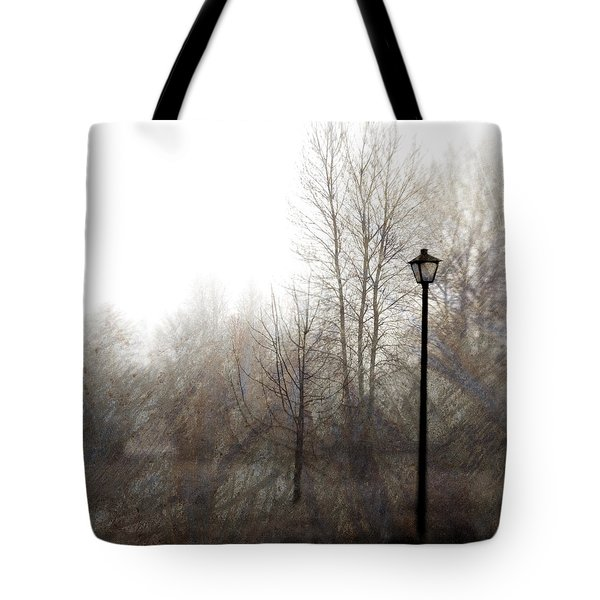 Oregon Winter Tote Bag by Carol Leigh