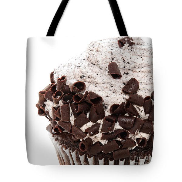 Oreo Cookie Cupcake 3 Tote Bag by Andee Design
