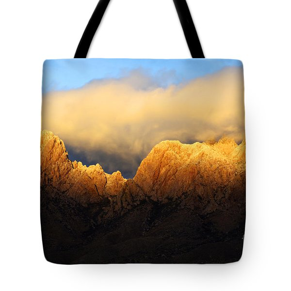 Organ Mountains Symphony Of Light Tote Bag by Bob Christopher