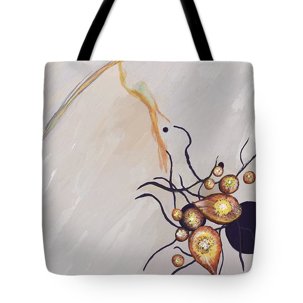 Organic Abstraction Tote Bag by Enzie Shahmiri