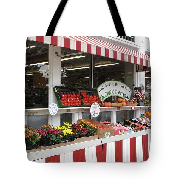 Organic and Natural Tote Bag by Barbara McDevitt