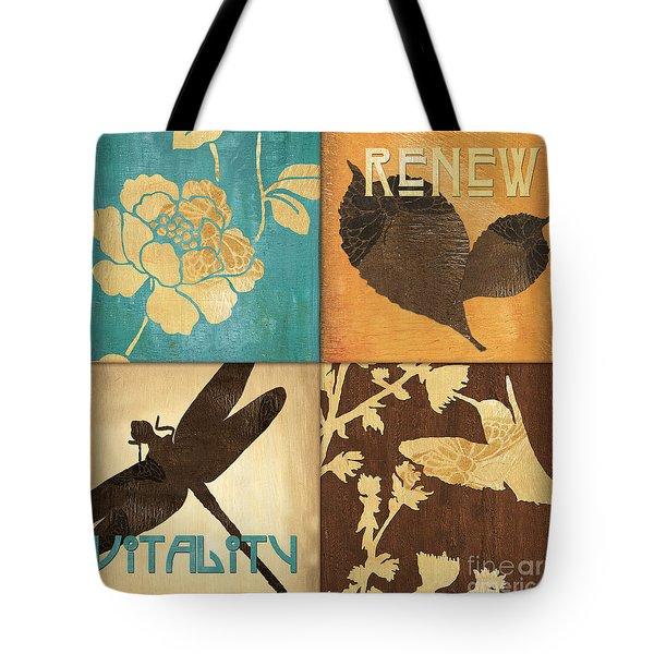 Organic Nature 4 Tote Bag by Debbie DeWitt