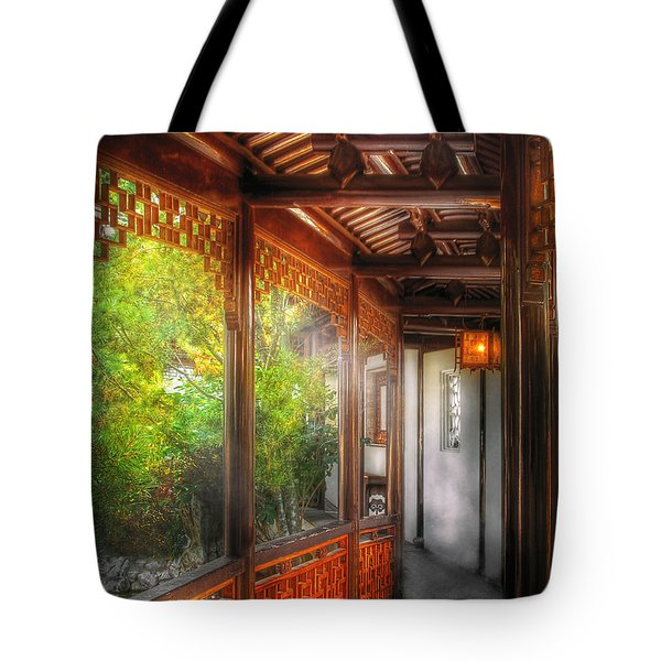 Orient - Continue On Tote Bag by Mike Savad