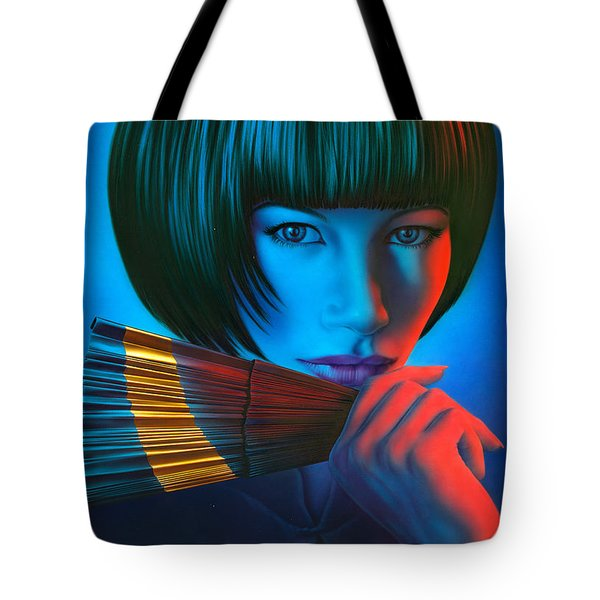 Oriental Gold Tote Bag by Andrew Farley