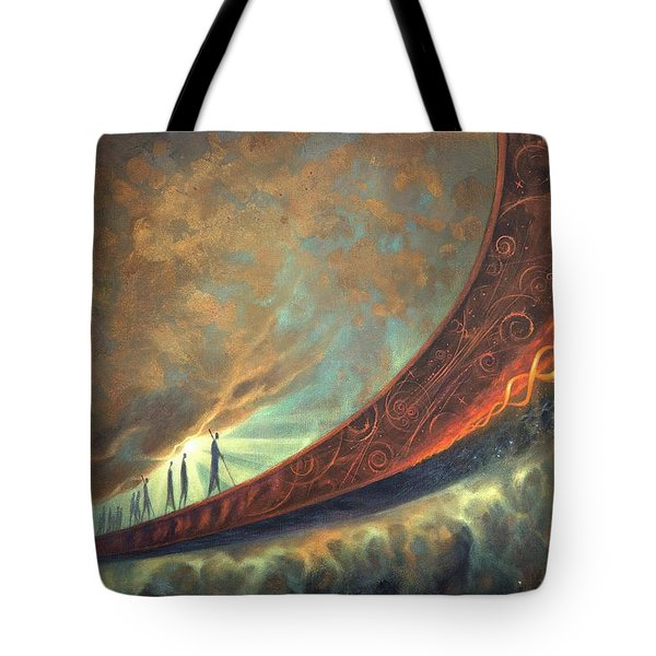 Origins Tote Bag by Lucy West