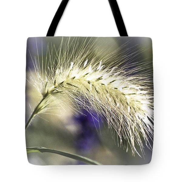 Ornamental Sweet Grass Tote Bag by Heiko Koehrer-Wagner