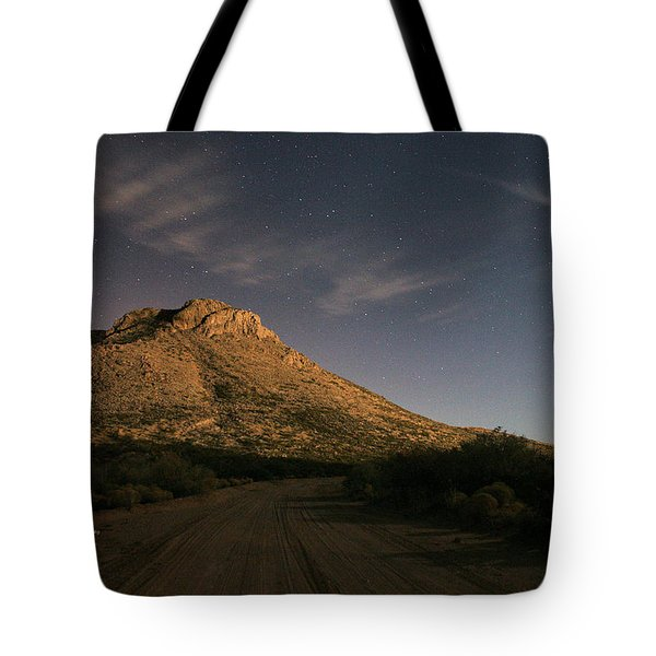 Oro Grande Nights Tote Bag by JC Findley