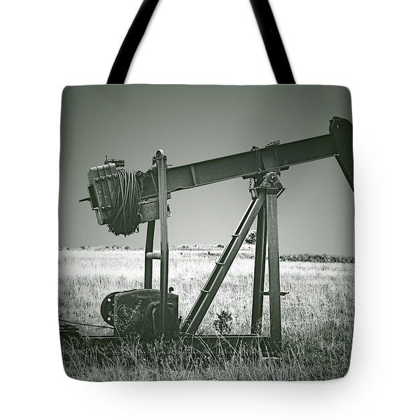 Orphans of the Texas Oil Fields Tote Bag by Christine Till